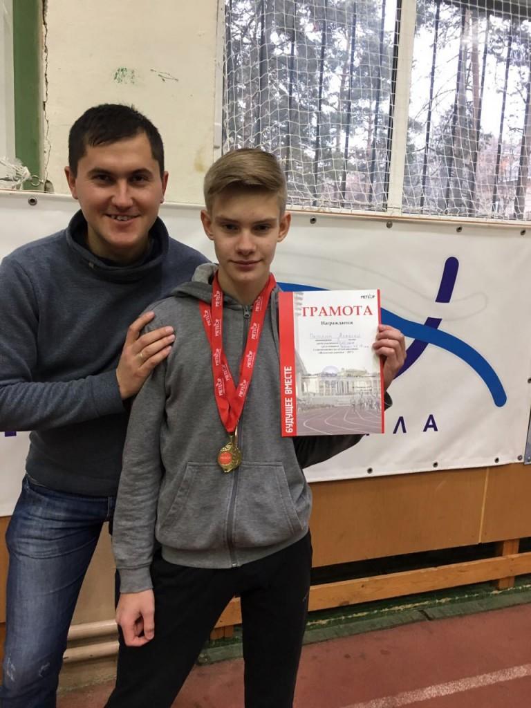 А Петлин и тренер М.Н.Катульский
